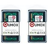 QUMOX Memoria SODIMM para Ordenador Portátil 4GB(2x 2GB) DDR2 667MHz PC2-5300 PC2-5400 DDR2 667 (200 PIN)