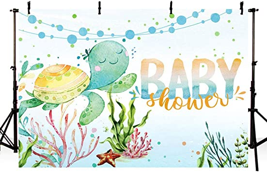 6x6FT Vinyl Wall Photography Backdrop,Camouflage,Aquatic Abstract Background for Baby Birthday Party Wedding Graduation Home Decoration