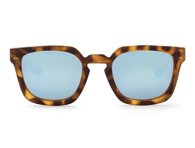 Mr. Boho | Salesas | Tortoise / Blue - Gafas de sol para hombre y mujer
