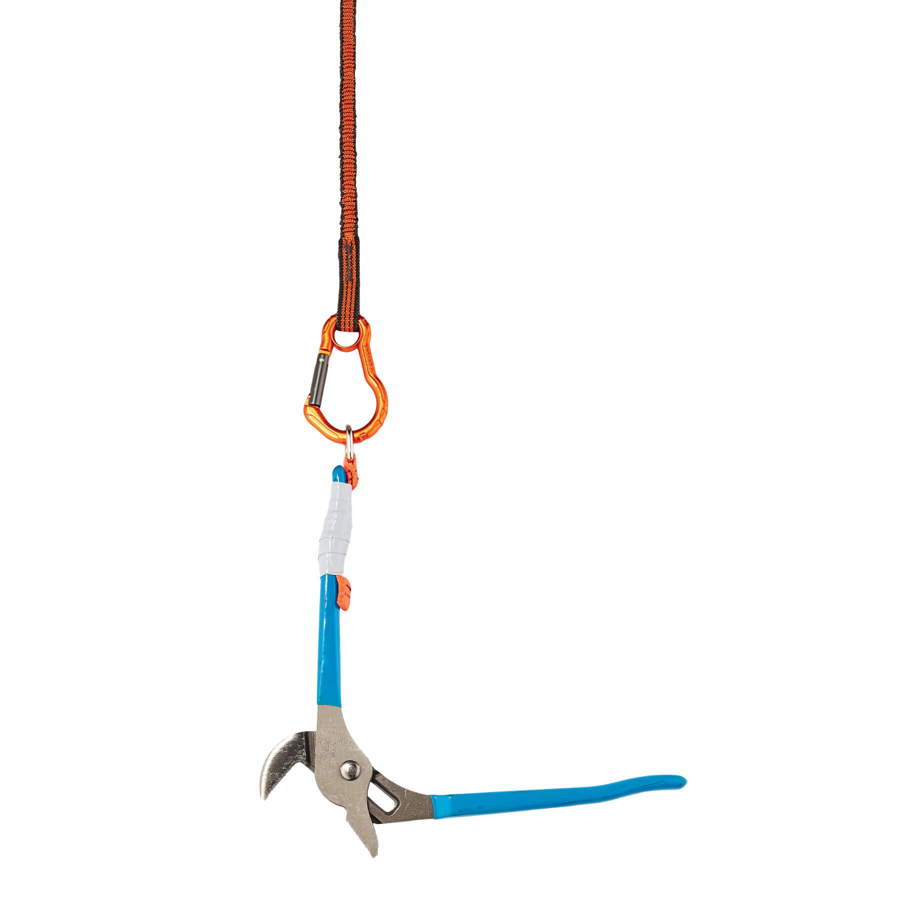 Ergodyne Squids 3110F(x) Shock Absorbing Tool Lanyard with Dual Aluminum Carabiners, 10 Pounds by Ergodyne (Image #3)
