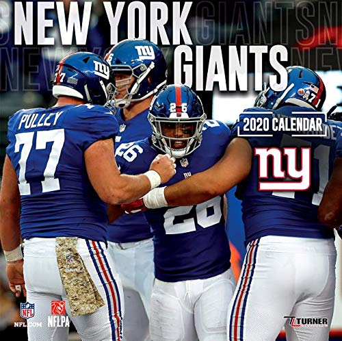 New York Giants Schedule 2020.New York Giants 2020 Calendar Inc Lang Companies