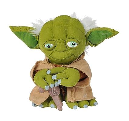 Amazon.com: Disney 5874943 - Peluche de Yoda de Star Wars ...