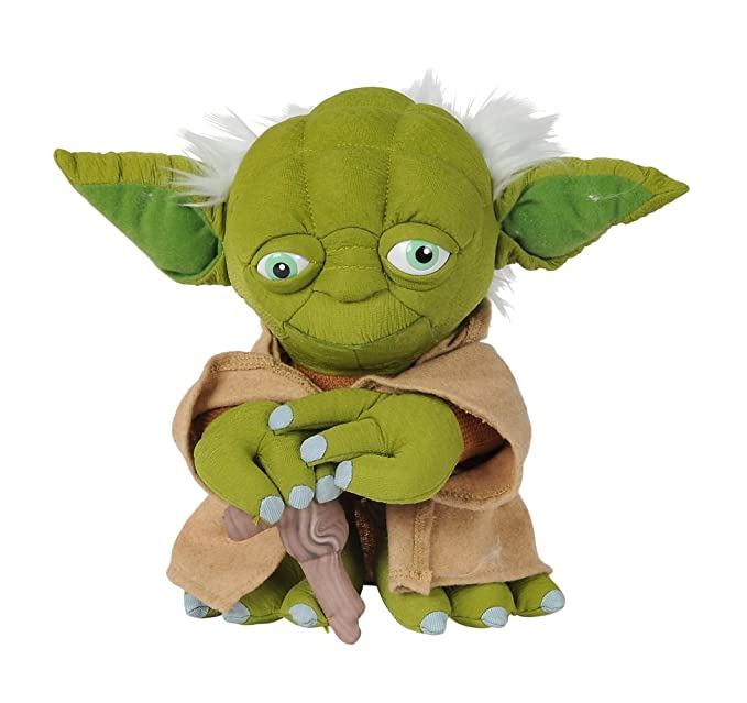 Amazon.com: Disney 5874943 - Peluche de Yoda de Star Wars ...