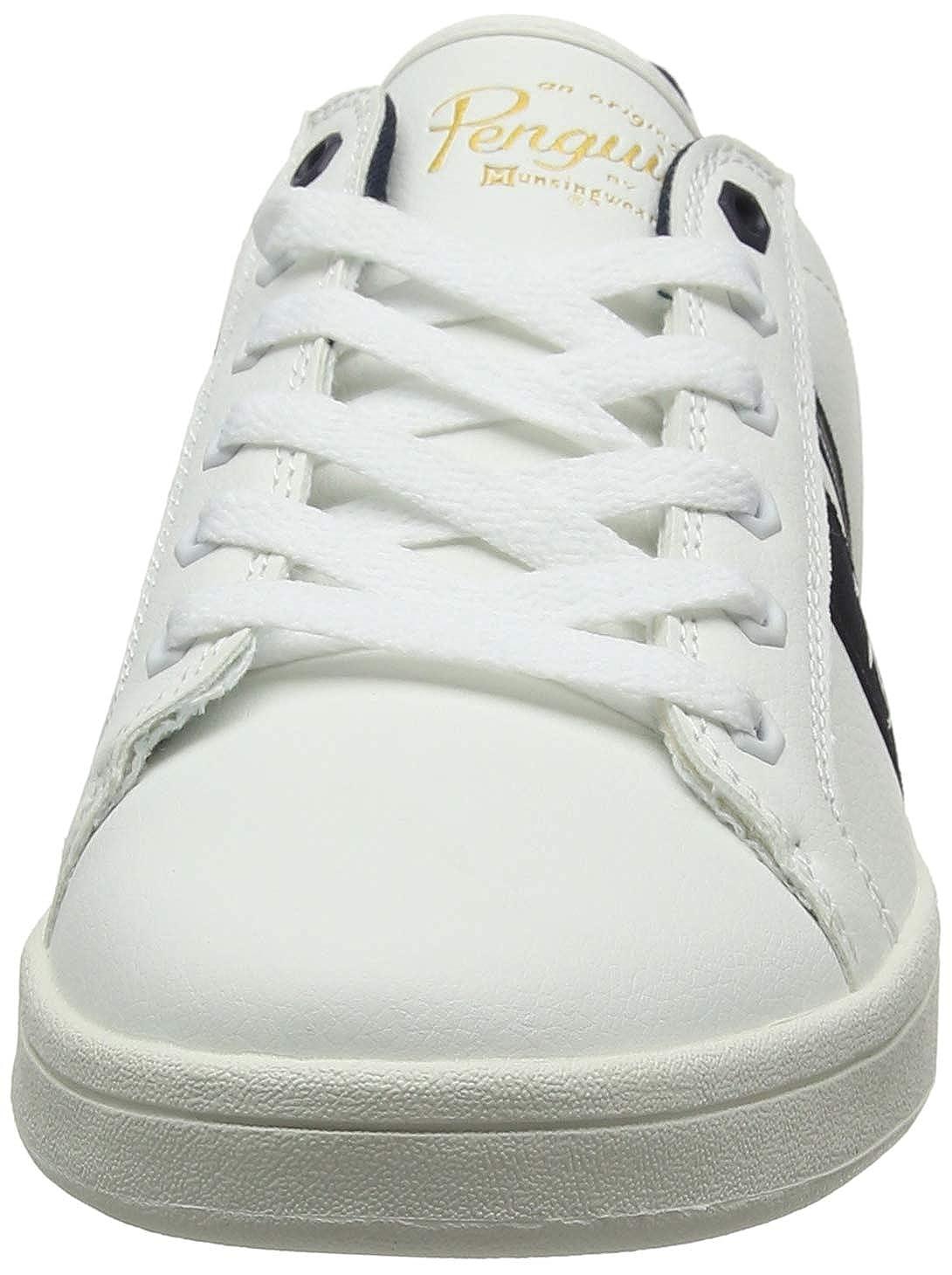Penguin Steadman Retro Mens Sneakers White