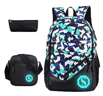 Amazon.com: JiaYou mochila escolar de moda de 20L ...