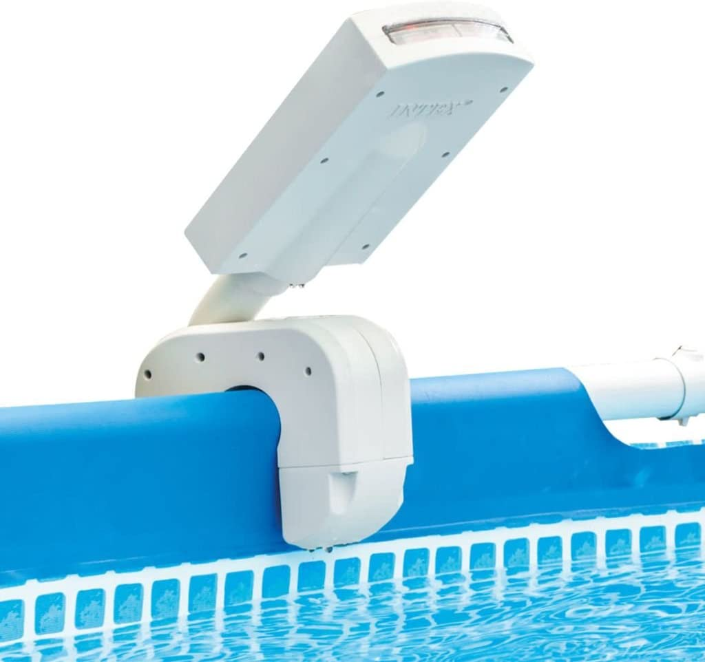 Intex 28089 - Cascada agua vertical con luces led multicolor piscinas 4 colores: Metal y Ultra Frame: Amazon.es: Jardín