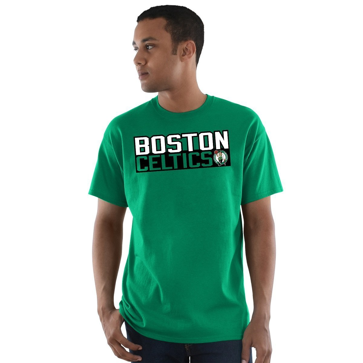 Football Fanatics Boston Celtics Kyrie Irving vertical jugador camiseta verde, Verde: Amazon.es: Deportes y aire libre