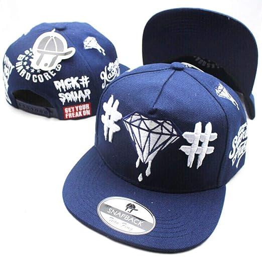 zhuzhuwen Sombreros con Letras de Diamantes Bordados ...