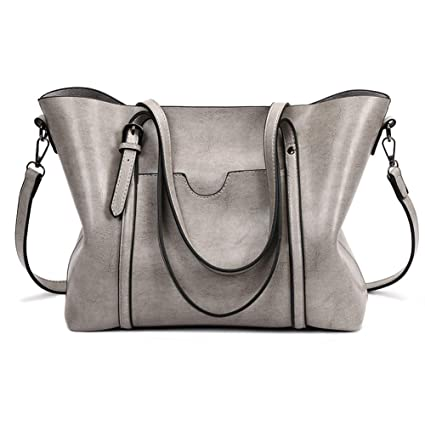 7592e3d33ac Fall Purse Fashion Top-Handle Bags Satchel Handbags for Women Fall Purses  Shoulder Bag Tote Purse Large Capacity Crossbody Bags Casual Pu Leather  Tote ...