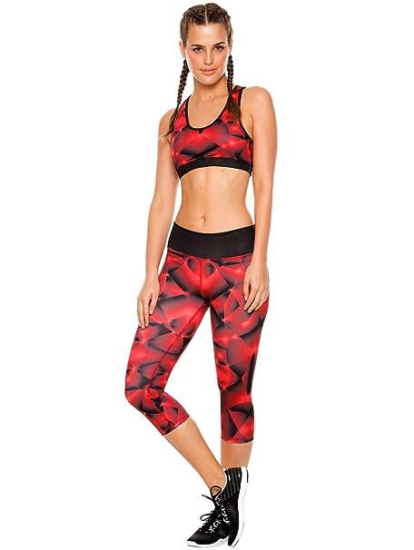 Amazon.com: flexmee Mujer Entrenamiento Activewear 2 piezas ...