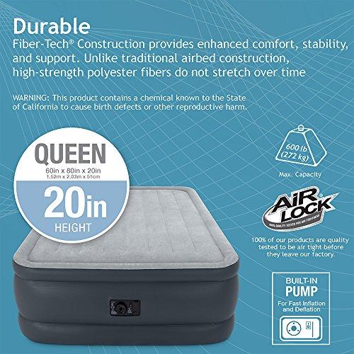 Intex Dura Beam Standard Series Essential Rest Airbed With