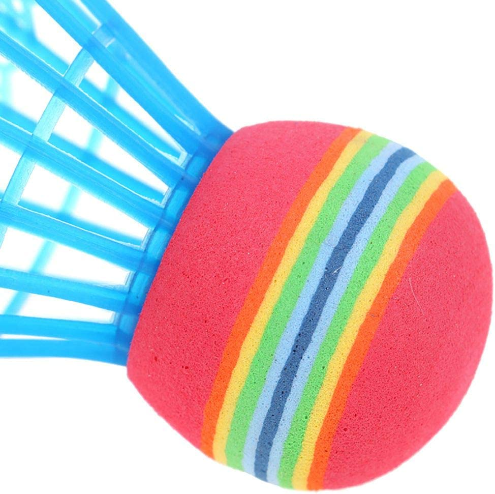 Breeezie Durable Colorful Badminton Ball Portable Shuttlecocks Outdoor Training Accessories