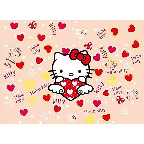 Puzzle Niños Rompecabezas De Madera Hello Kitty Rompecabezas