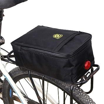 Leiyini - Bolsa de Asientos Traseros para Bicicleta, diseño ...