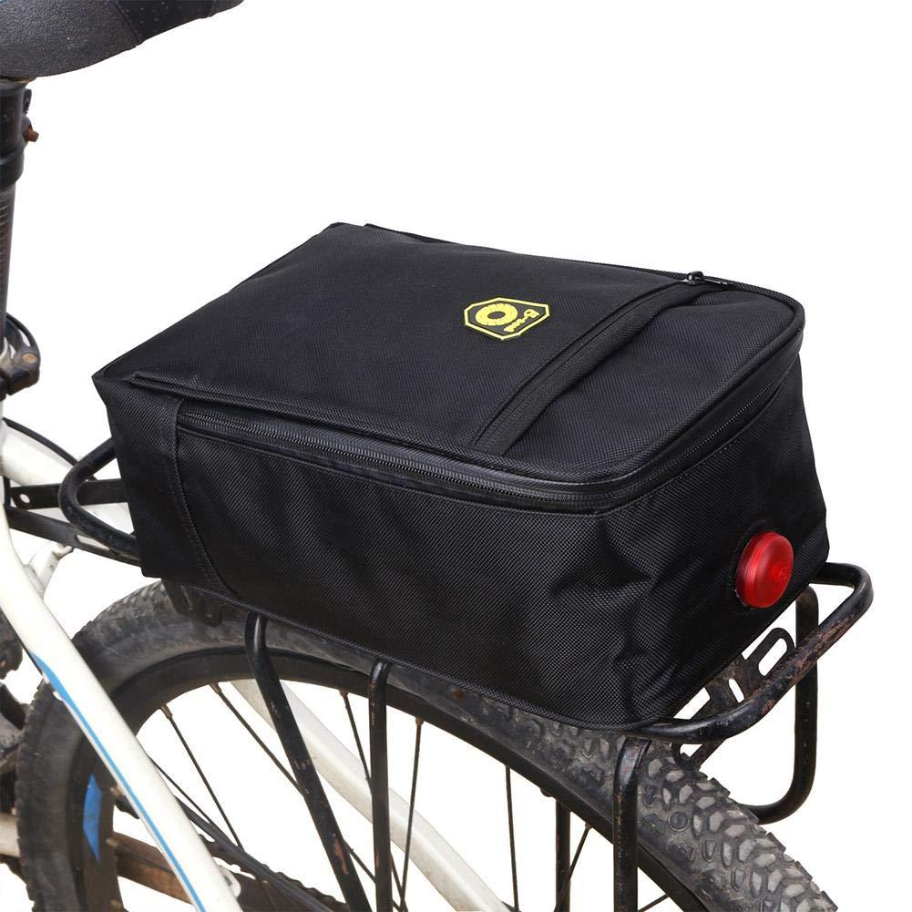 Leiyini Electric Bicycle Rear Seat Trunk Bag Cycling Rack Pack Bike Rear Bag Handbag
