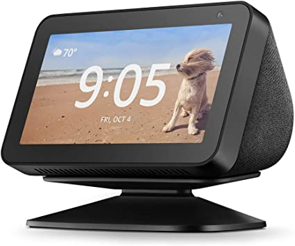 Amazon Com Echo Show 5 Adjustable Stand Black Amazon Devices