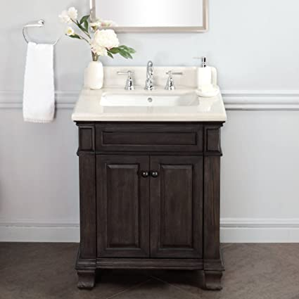 Lanza WF6953 28 Kingsley 28 In. Single Bathroom Vanity