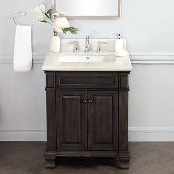 Lanza WF6953 28 Kingsley 28 In. Single Bathroom Vanity