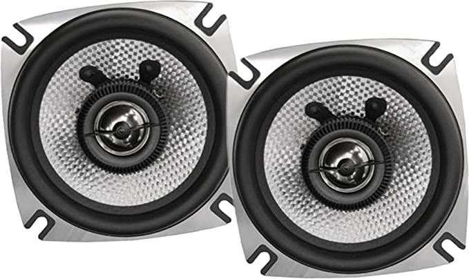 2 PCS 5 inch Car Coaxial Speakers 2 Way 400W Coax Audio Woofer Component System