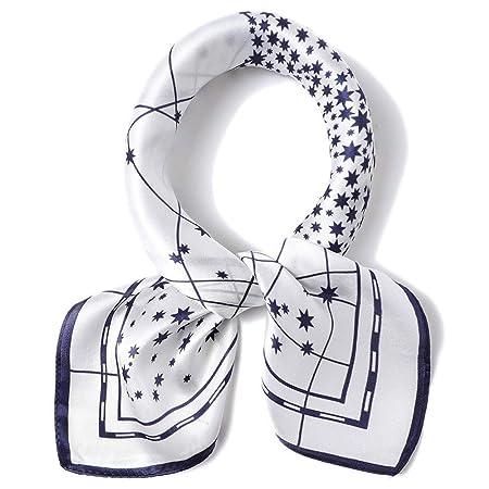 Bufanda de las mujeres Cuello Cuadrado de la vendimia Corbata para ...