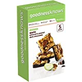goodnessknows Apple, Almond, Peanut and Dark Chocolate 5-Count Box