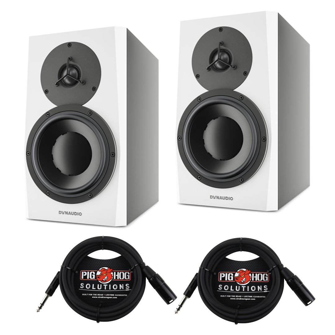 "Amazon.com: Dynaudio Acoustics LYD 7 Nearfield 7"" Speaker Monitor Pair with  10' TRS-XLR Cables: Musical Instruments"