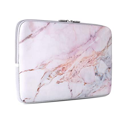 5d091e0c6422 Laptop Sleeve, iCasso 13-Inch Stylish Soft Neoprene Sleeve Case Cover Bag  for MacBook Air/Pro/Retina 13 Inch/iPad Pro, Colorful Marble