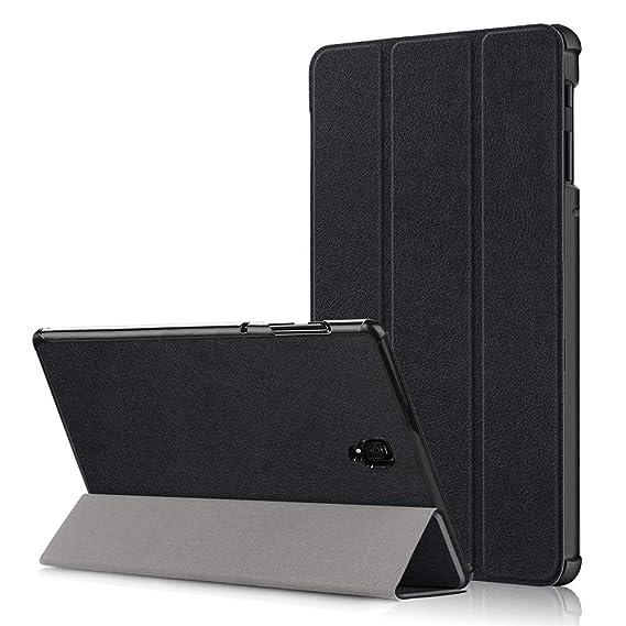 super popular 8b281 f21e4 Amazon.com: Samsung Galaxy Tab S4 10.5 Case, Luxury Genuine Leather ...