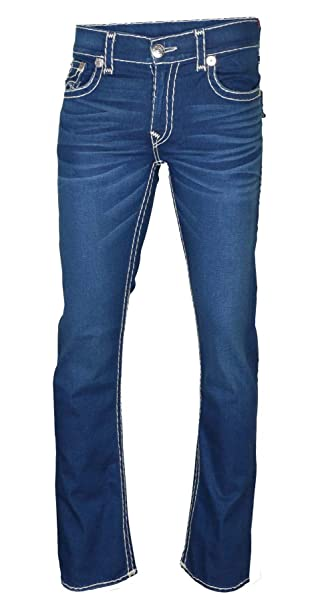 Amazon.com: True Religion - Pantalones vaqueros rectos para ...