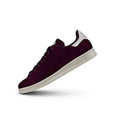 3ae0cb218 adidas Mens Originals Stan Smith Trainers in Burgundy  Amazon.co.uk ...