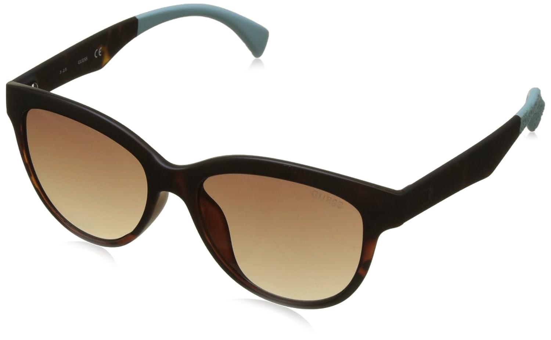 Guess Sonnenbrille GU7433 5352F Gafas de sol, Marrón (Braun), 57 para Mujer