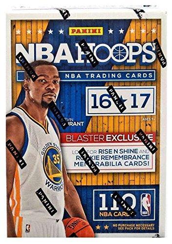 2016/17 NBA Panini Hoops Basketball Blaster Box, Small, Black