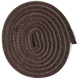 Heavy Duty Felt Pads for Chair Legs Self-Stick Heavy Duty Felt Strip Roll for Hard Surfaces (1/2