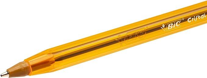 punta fina ROJO 3 UNIDADES BiC Cristal Original Fine Bolígrafo de punta de bola