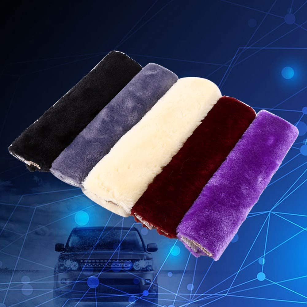 Comfortable Fabric Durable /& Adjustable Pads Auto SUV 2Pcs Car Seat Belt Cover Soft Seatbelt Shoulder Pads Purple Beige Black for Adults Women Kids Beige Truck