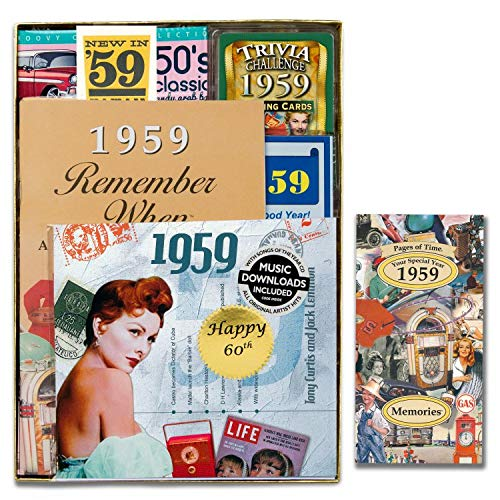 Personalized 60th Birthday and 60th Anniversary Time Capsule ()