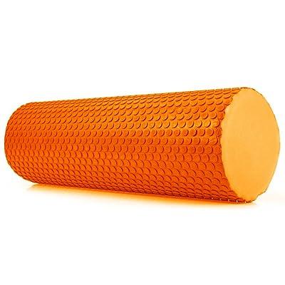 Wenbest Yoga Rouleau de mousse Physio Pilates Fitness EVA à virgule flottante d'exercice Gym Yoga en mousse souple cales de massage outils
