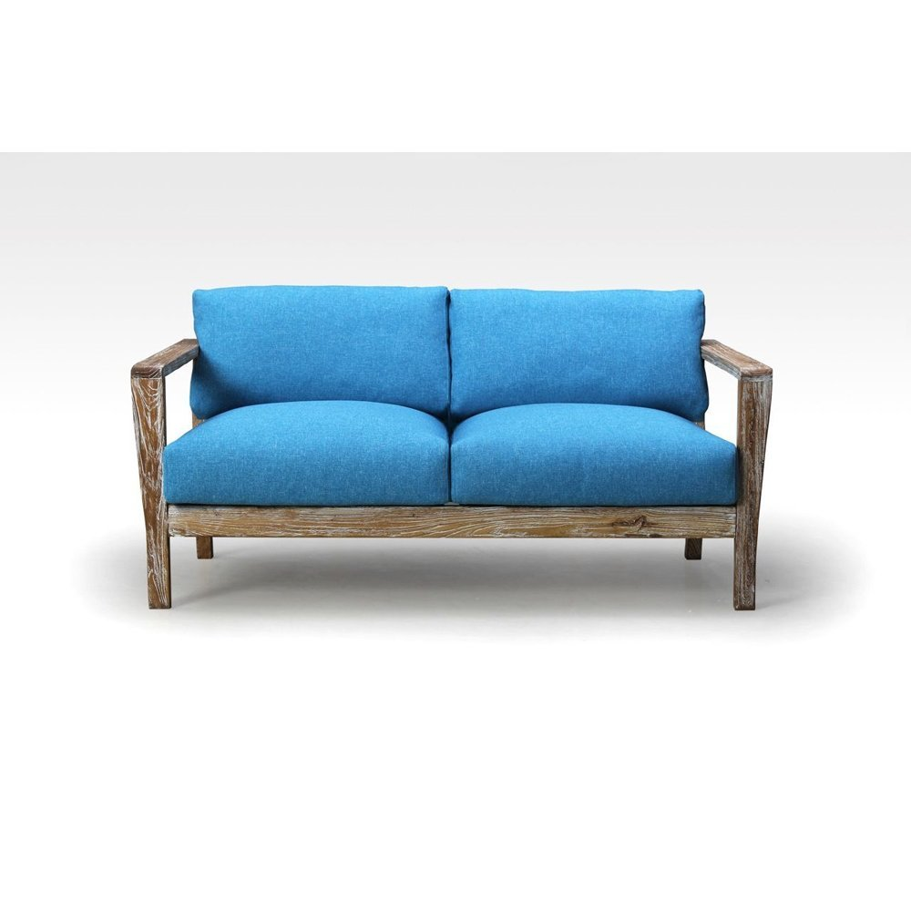 Reclaimed Loungesofa Miami, Aqua fresh