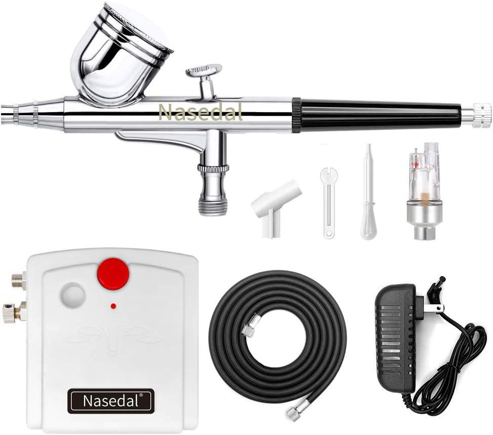 Air Brush Airbrush Car Spray Gun Kit Air Compressor Paint Hobby Art Tattoo Cake