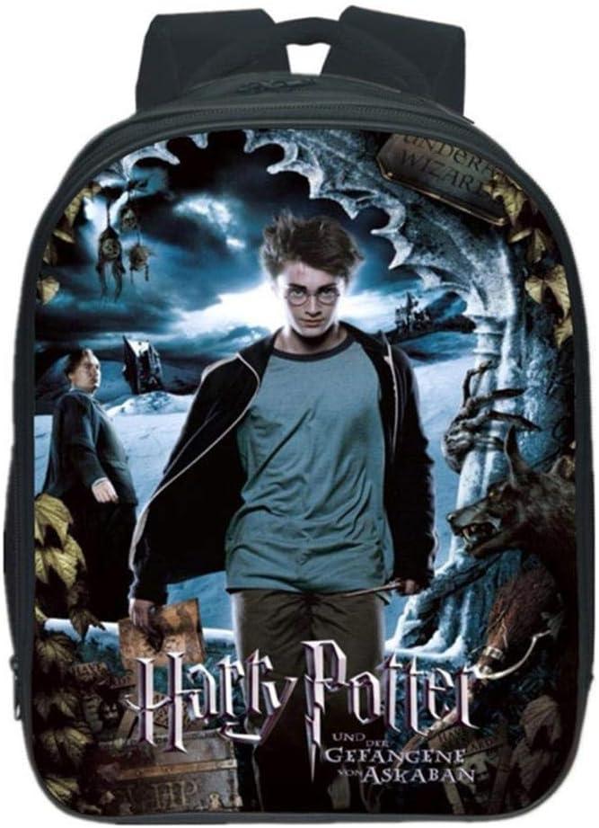 Backpack Sac /à Dos pour Enfants Imprim/é en 3D Sac /à Dos pour Enfants Harry Potter Maternelle Sac /à Dos pour Les Gar/çons Et Les Filles Sac D/école E