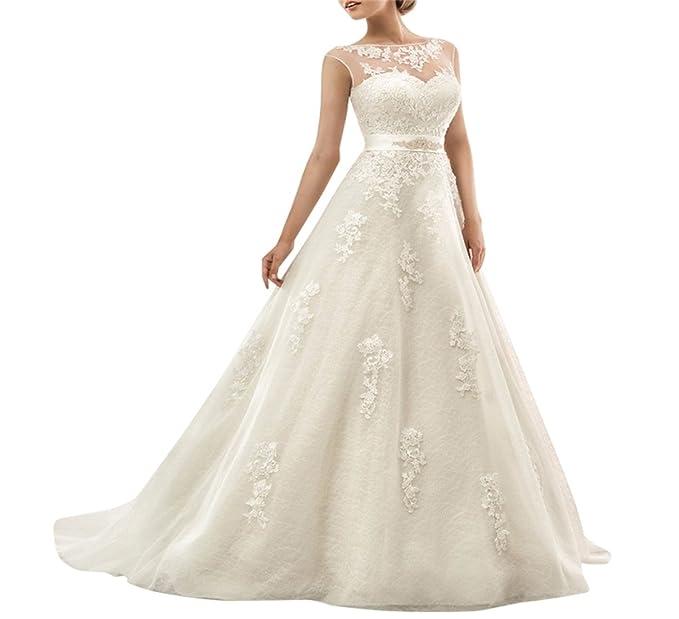 Amazon vestidos de novia largos