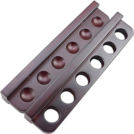 GXYLTT Solid Wood Billar Stick Holder, Rack Cue montado en la ...