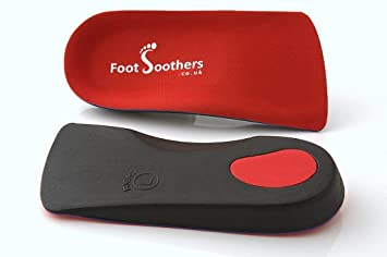 a2cfefc43b R3D 3/4 Orthotic Insoles Arch Support Foot Soothers Pronation Fallen Arches  Flat (UK