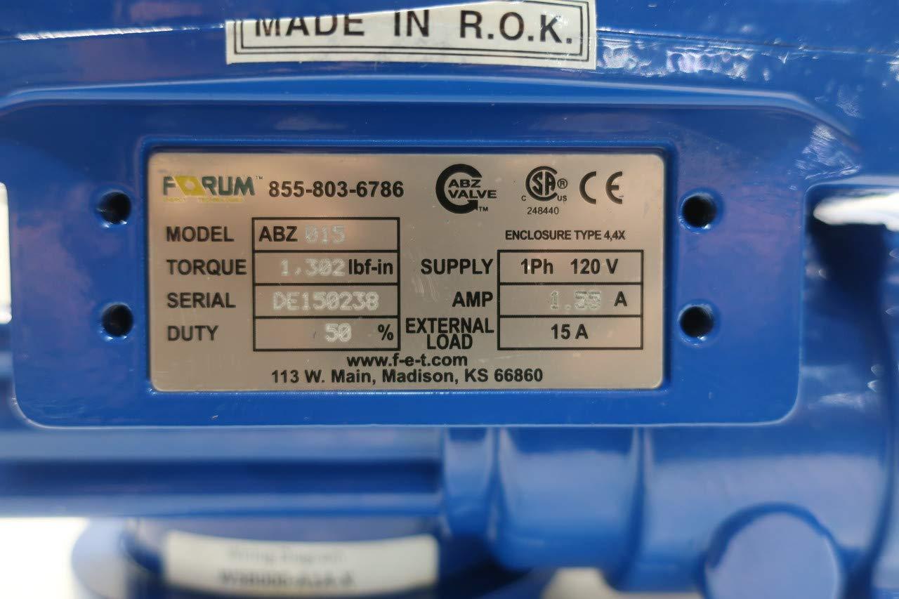 Abz 015 Electric Valve Actuator 120v Ac D648095 Wiring Diagram Industrial Scientific
