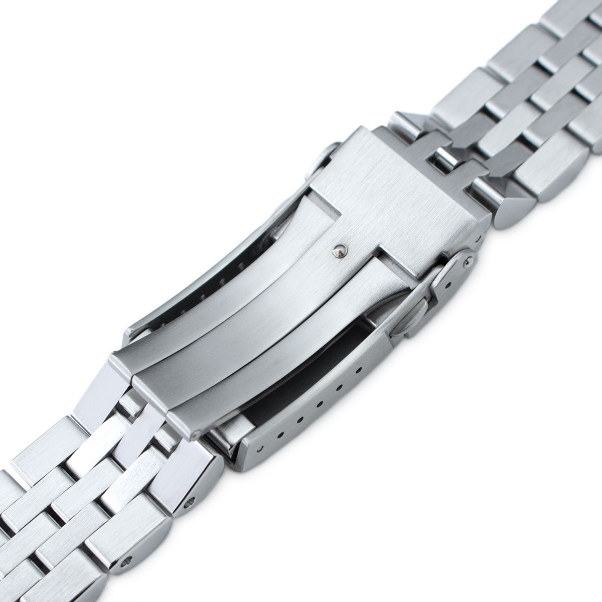 20mm Angus Jubilee Watch Bracelet for Seiko MM300 SBDX001, Brushed/Polished, V-Clasp by Seiko Replacement by MiLTAT (Image #6)