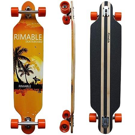 RIMABLE Drop-Through Longboard (41-inch)