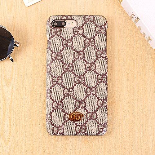 ヨーグルト性交トロリーiPhone 7 Plus/iPhone 8 Plus ケース、新しいエレガントな高級高級PUレザークラシックスタイルの保護ケース