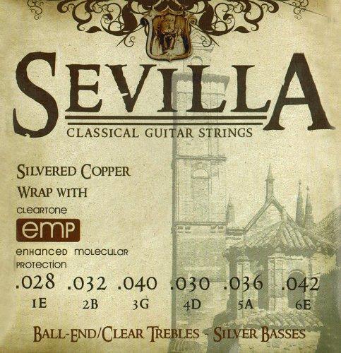 Cleartone Sevilla Classical Strings Ball End High ()