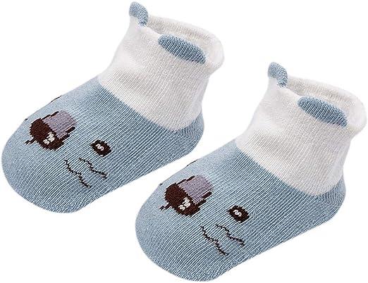 Baby Socks Newborn Cotton Animal Short Anti-Slip Sock Infant Boy Girl 0-4Year//US