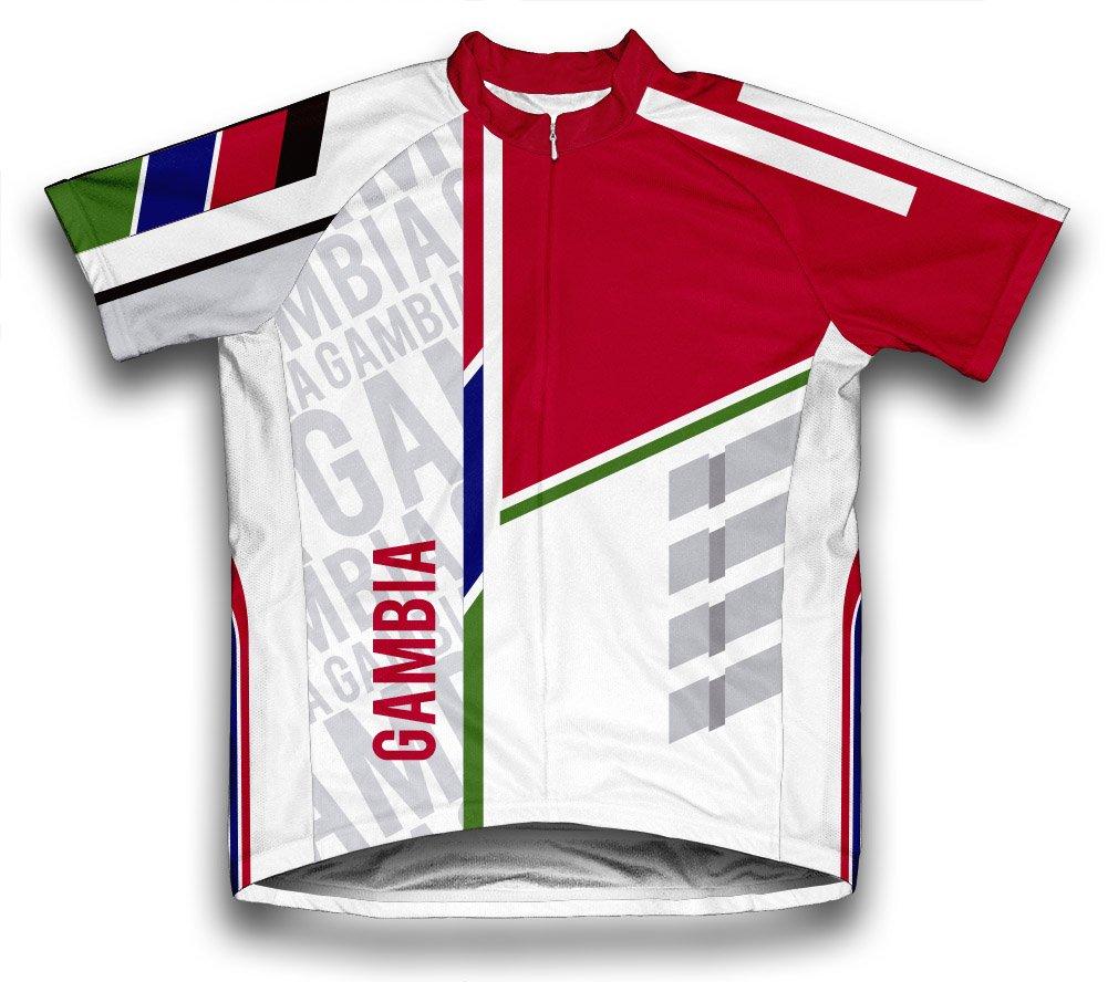 ScudoPro Gambia Radsport Trikot mit kurzer Ärmel für Menner